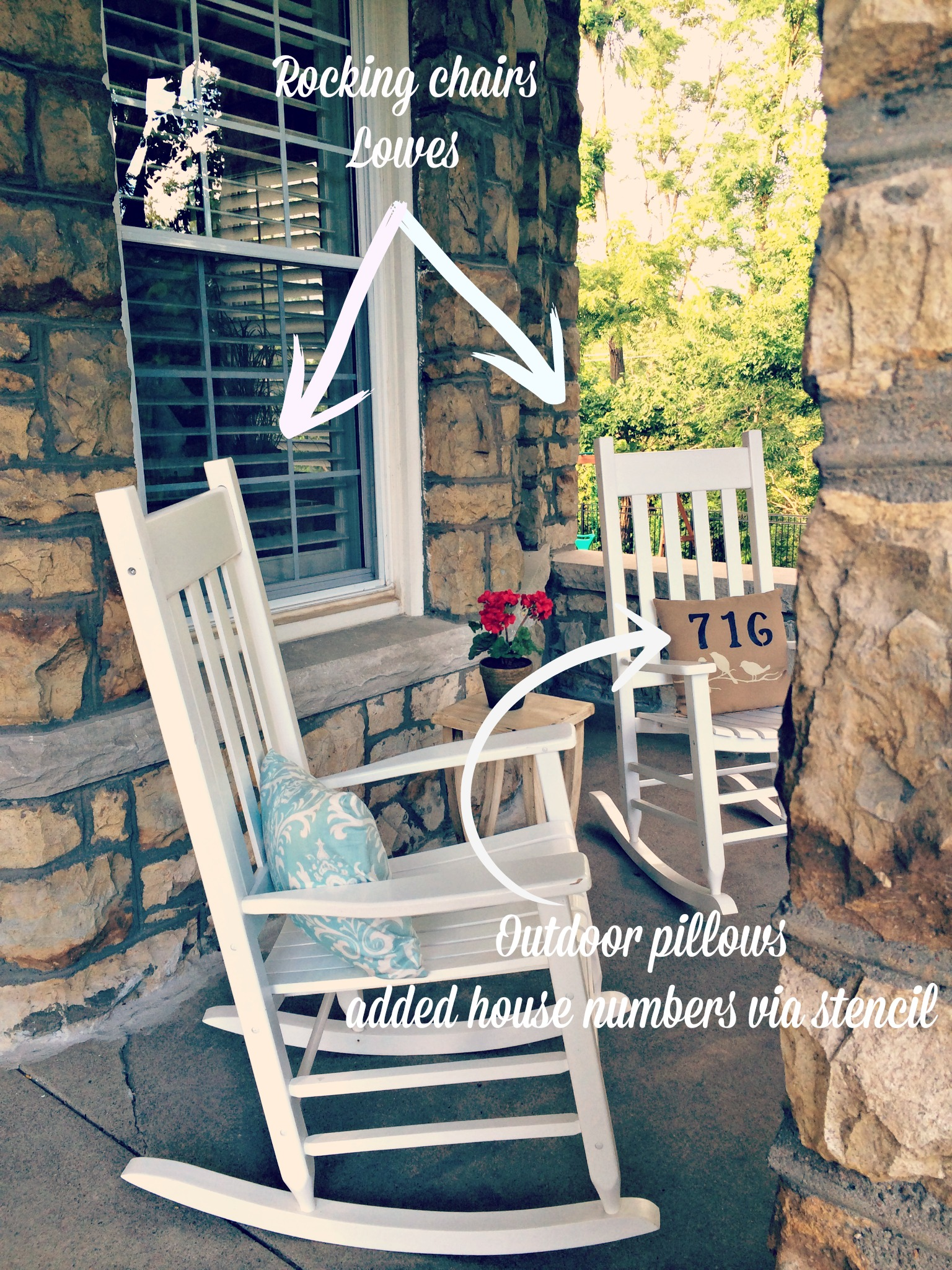 Anatomy of an American porch