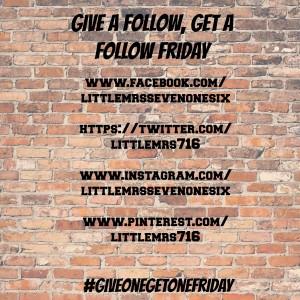 #giveonegetonefriday
