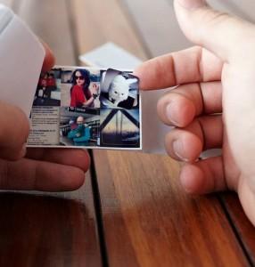 Mini sticker book via Printsgram, 252 stickers $15