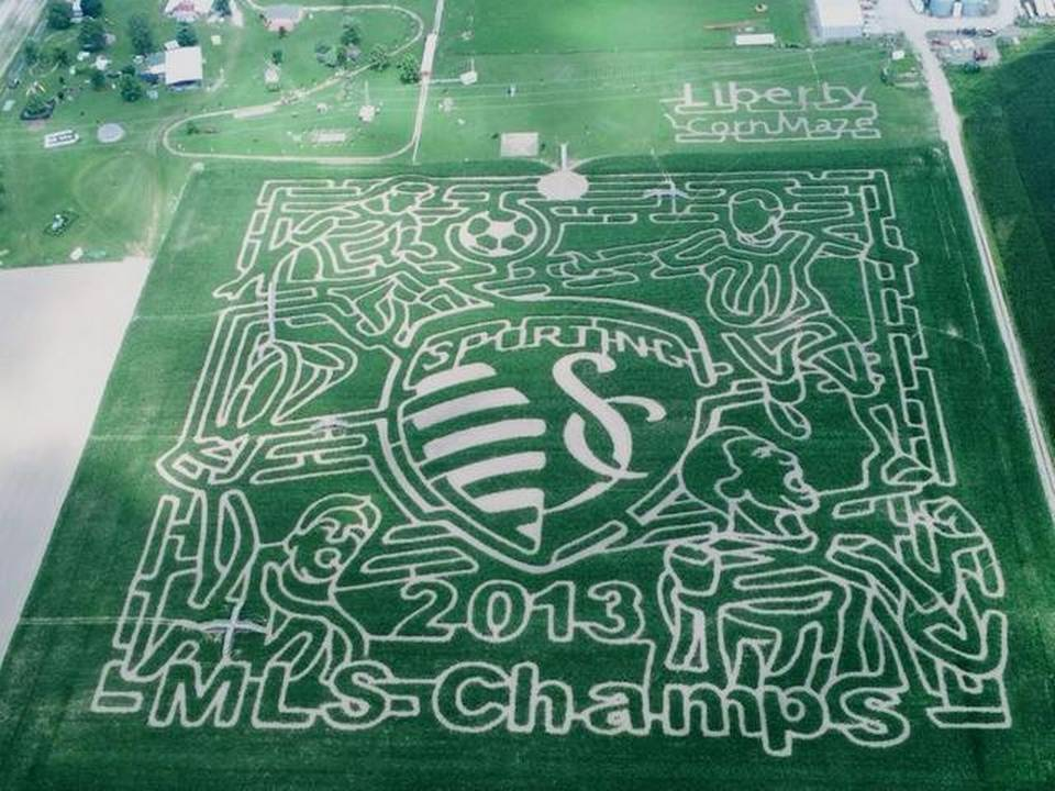 Photo via Liberty Corn Maze